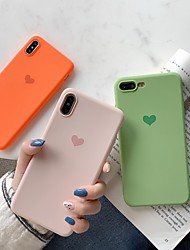 cheap -Lovely Case For Apple iPhone XR / iPhone XS Max Heart Pattern iPhone Case Cute Simple Love Case Back Cover Heart Soft TPU for iPhone X XS 8 8Plus 7 7Plus 6 6S 6Plus 6S Plus