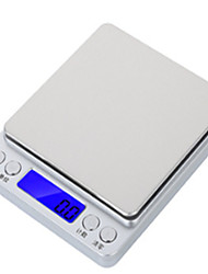 cheap -0.1-3000g  0.1-2000g   0.1000g  0.1-500g Portable LCD-Digital Screen Electronic Kitchen Scale Digital Jewelry Scale Mini Pocket Digital Scale For Office and Teaching Home life Outdoor travel