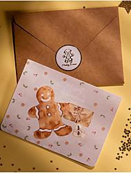 cheap -6pcs Christmas Decorations Christmas Ornaments Cards