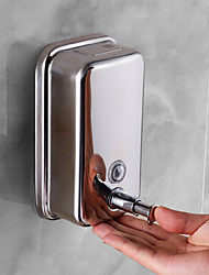 cheap -Wall Mounted Hand Sanitizer Machine Soap Dispenser Press Stainless steel 500 ml Building Entrance Necessary