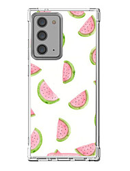 cheap -Watermelon Case For Samsung Galaxy S21 Galaxy S21 Plus Galaxy S21 Ultra Unique Design Protective Case Shockproof Back Cover TPU