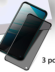 cheap -Vivo Screen Protector VIVO Y66 Z5X Z1 Pro X9 X9S X9 Plus X9S Plus X20 X20 Plus S1 Pro High Definition (HD) Front Screen Protector 3 pcs Tempered Glass Anti Peeping