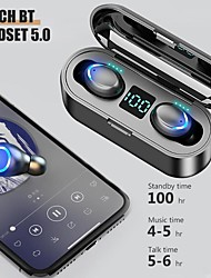 cheap -CIRCE F9-5C Wireless Earbuds TWS Headphones Bluetooth5.0 Stereo with Volume Control with Charging Box Mobile Power for Smartphones Smart Touch Control for Mobile Phone