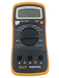 cheap -Digital Resistance Meter BM500A 1000V 1999M Digital Insulation Resistance Tester Meter Megohmmeter Megger Multimeter