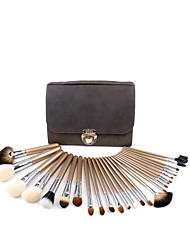 cheap -NMKL 26 woolen makeup brush set loose powder blush brush a full set of combination beauty tools factory direct sales