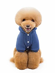 cheap -pet sweater hoodie for small dogs pet clothing puppies doggie t-shirt winter warm cotton cloth for puppy
