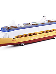 cheap -Cruise Ship Models Rocket & Spaceship Simulation Music & Light Metal Alloy Kid's Adults All Toy Gift 1 pcs