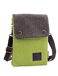 cheap -small canvas cell phone purse wallet cute but roomy casual shoulder bag crossbody bag for women (yellow green)