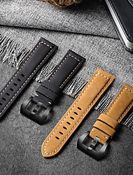 cheap -Leather Watch Band for Huawei Watch GT 2e / GT2 46mm / GT2 42mm / GT Active / Honor Magic / Magic Watch 2 46mm / Magic Watch 2 42mm / Watch 2 / Watch 2 Pro Replaceable Bracelet Wrist Strap Wristband