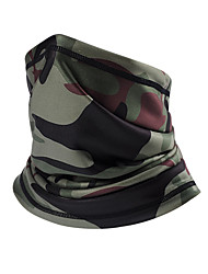 cheap -Nuckily Neck Gaiter Neck Tube Balaclava Pollution Protection Mask Thermal Warm Soft Stretchy Winter Sports Comfortable Bike / Cycling Forest Green Green / Yellow Green / Black Lycra Winter for Unisex