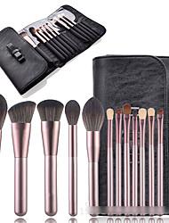 cheap -12 Pcs makeup brush set small grape makeup brush package full set of makeup