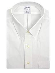 cheap -mens regent fit non iron 100% cotton pocket dress shirt bright white (15 neck 32/33 sleeves)