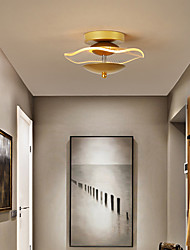 cheap -LED Corridor Lamp Modern Simple Nordic Gold Black Entrance Hall Lamp LED Yang Desk Lamp Cloakroom Porch Lamp Corridor Light