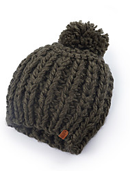 cheap -jillian slouchy knit beanies winter hats for women, black, one size