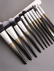 cheap -12 Gradient Makeup Brush Set Comfortable and Soft Full Set
