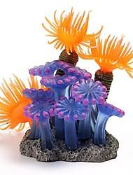 cheap -1pc Fish Aquarium Decorations Home Soft Artificial Coral Fish Tank Aquarium