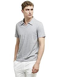 cheap -men's mini polo shirt, smokey blue, large