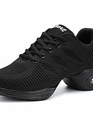 cheap -women's ghostwalk dance shoes, fly woven mesh breathable dancing shoe non-slip wear-resistant modern dance shoes damping air cushion shoes sports shoes,black,eu39