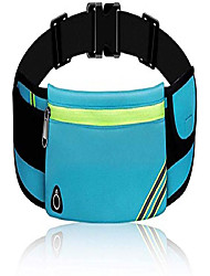 cheap -running belt for men women, water resistant fanny pack runners belt - waist pack bag pouch belt for fitness, workout, jogging - phone holder for running for all kinds of iphone samsung - blue