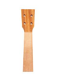 cheap -NAOMI 21'' Ukulele Neck Mahogany Body Sapele Veneer Neck For Soprano Ukelele Uke Hawaii Guitar Parts Ukulele Luthier DIY