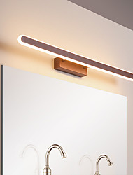 cheap -Led Mirror Lamp Bathroom Bathroom Mirror Lamp Modern Simple Aluminum Lamp Dance Dressing Room Lamp Background Wall Lamp