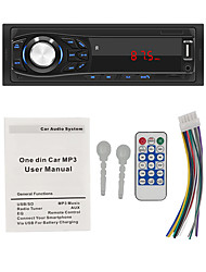 cheap -1-Din Car Stereo Audio Bluetooth MP3 Player LED Screen AUX USB FM Support MP3 Radio for Car Remote Control Music Player SWM-1030 12V