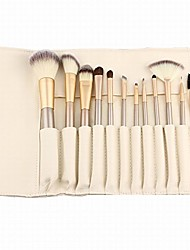 cheap -12 pcs makeup brushes set professional cosmetics foundation eyeshadow eyeliner brush