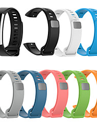cheap -Soft Silicone Adjustable Bracelet Strap Watch Band Wristband Replacement For Huawei Band 2 Pro/Band 2 ERS-B19/ERS-B29 Strap
