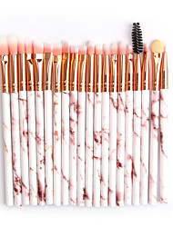 cheap -20 Pieces of Marbled Eye Makeup Brush Beauty Tool Eye Shadow Brush Soft and Comfortable