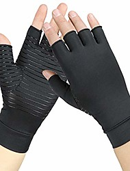 cheap -copper arthritis gloves women and men -compression gloves for women-rheumatoid,arthritis,swelling and tendonitis pain relief(1 pair) (m)