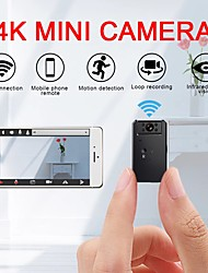 cheap -Hidden Spy Camera Mini 4k Wifi Camera Smart Wireless Camera Access Point Hd Night Vision Video Small Micro Camera Motion Detection Vlog Spy