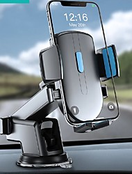cheap -Joyroom JR-OK3 360 Rotation Car Phone Holder Stand Windshield Gravity Strong Sucker Dashboard Mount Support For Phone in Car