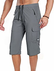 cheap -Hiking Shorts Summer Outdoor Breathable Quick Dry Sweat-wicking Wear Resistance Cargo Pants Bottoms Gray 8861 Blue 8861 Black 8861 Camping / Hiking Hunting Fishing Please contact customer service for