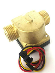 cheap -Sensor 24 - Flow meter for drinking water DN15 G1 / 2 0.3-10 l / min 1.5 MPa DC3-24V