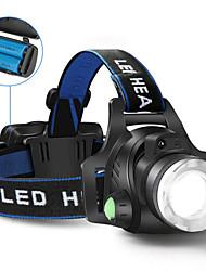 cheap -Headlamps Headlight 5000 lm LED LED Emitters 1 Mode Camping / Hiking / Caving Cycling / Bike Hunting United Kingdom AU EU USA / US Plug / EU Plug / UK Plug / AU Plug