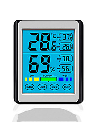cheap -Touch Screen Electronic Digital Display Temperature And Humidity Instrument New Product Ch-914 High Precision Household Indoor Luminous Thermometer