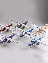 cheap -Toy Airplane Pull Back Vehicle Plane Simulation Music & Light Alloy Adults Kids All Toy Gift