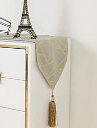 cheap -Modern Light Luxury Fashion Bronzing Craft Table Runner