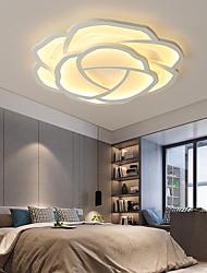 cheap -42/52 cm Rose Shaped LED Ceiling Light Romantic Simple Modern Bedroom Main Room Lighting Living Room Lighting