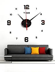cheap -Digital Mirror Watch DIY Quiet Acrylic Sofa Wall Background Decoration Quartz Clock ZB007