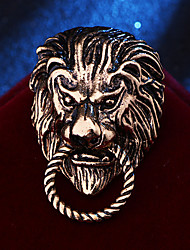 cheap -Wedding Party / Daily Wear Party Accessories Brooches & Pins Metal / Solid Alloy Fashion / Lion / Creative
