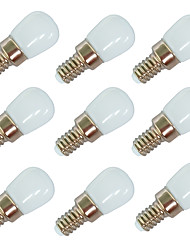 cheap -9pcs 2 W LED Globe Bulbs 100 lm E14 E12 T22 6 LED Beads SMD 2835 Warm White White 220-240 V