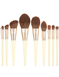 cheap -Professional Makeup Brushes 13pcs Cute Soft Adorable Lovely Comfy Wooden / Bamboo for Makeup Tools Blush Brush Foundation Brush Makeup Brush Lip Brush