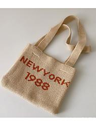cheap -1pcs Kids Unisex Active Letter Polyester Bags Orange / Beige One-Size