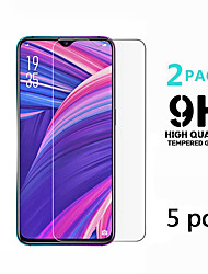 cheap -OPPO Screen Protector OPPO A5 2020 A9 2020 Realme 5 Realme X2 Realme XT Realme X2 Pro Realme X50 K5 Reno Ace Reno 3 A11 High Definition (HD) Front Screen Protector 5 pcs Tempered Glass