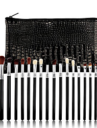 cheap -19 Pcs Makeup Brushes Set Eyeliner Smudge High Gloss Eye Shadow Brush Set Beauty Tool Wooden Handle Eye Shadow Brush