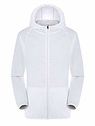 cheap -raincoat men's women,upf 50+ windproof ultra-light windbreaker top ultra-light coat outwear lightweight jacket s-4xl white