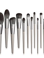 cheap -12 Tapered Makeup Brushes Makeup Tools Comfortable Soft Full Set