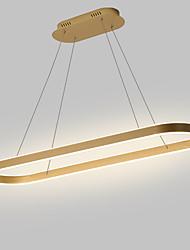 cheap -80/100/120 cm Circle Design Pendant Light Nordic Style Aluminium Alloy Painted Finishes Modern Fashion 110-120V 220-240V