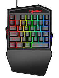 cheap -35 Buttons Gaming Keyboard Mechanical Keyboard Backlight Gaming Key-Pad Mobile Phones Game Accessories for gamer